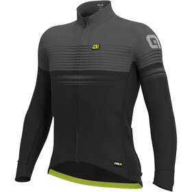 Alé Cycling Graphics PRR Slide Wind Maillot Hombre, black-charcoal grey